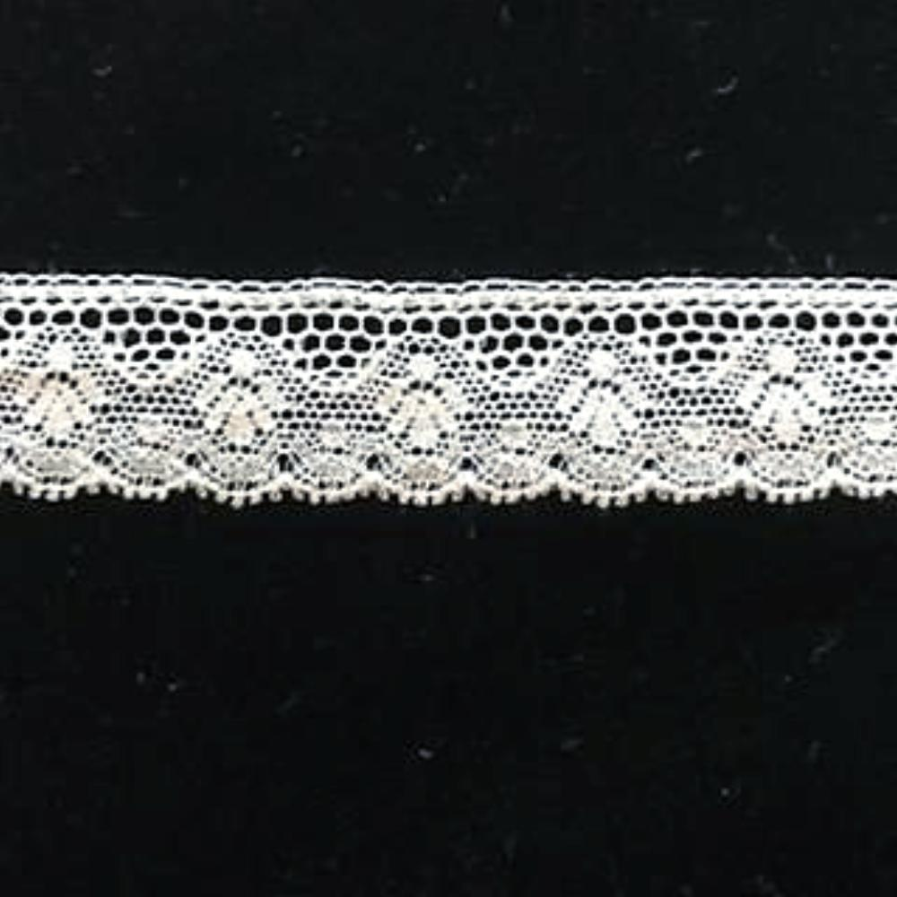L-43 Ivory - Lace Edging - 18mm Angel Lace Design.