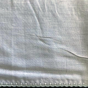 E-28 - Blue, Seafoam - 130mm Embroidered Edging - coloured.