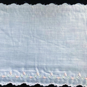 E-121 Appenzal - 160mm Edging - Swiss Cotton Embroidery