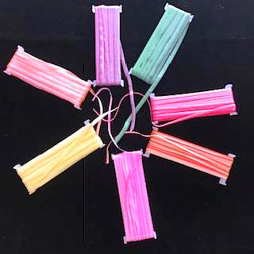 Faveur Ribbon - 5 metre spools - 7 colour varieties -Sell Out Special.