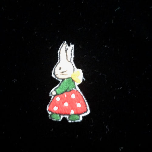 Vintage Swiss Cotton Motif - Large Rabbit - Code 34629