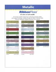 YLI Ribbon Floss - Metallic