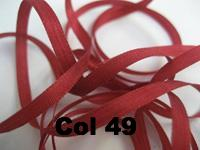 YLI Silk Ribbon - 4mm width - 2 metre cards - Click for colours 1 to 99.
