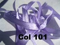 YLI Silk Ribbon - 4mm width - 15 metre spools - Click for Colours 1 to 99.