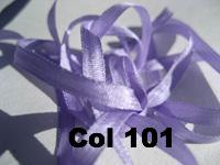 YLI Silk Ribbon - 7mm width - 2 metre cards - 89 colours - Click for full colour range.
