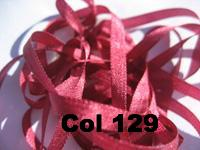 YLI Silk Ribbon - 7mm width - 15 metre spools -  89 colours - Click for full colour range.