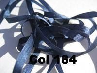 YLI Silk Ribbon - 4mm width - 2metre cards - Click for colours 100 - 185.