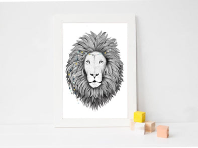 Carte Lion - A6 - Loulook Kids