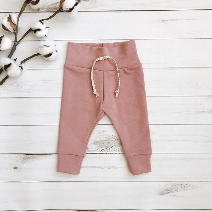 Mauve - Solid Leggings
