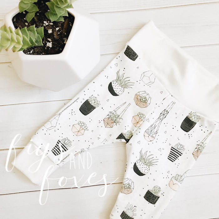 Boho Planter Leggings