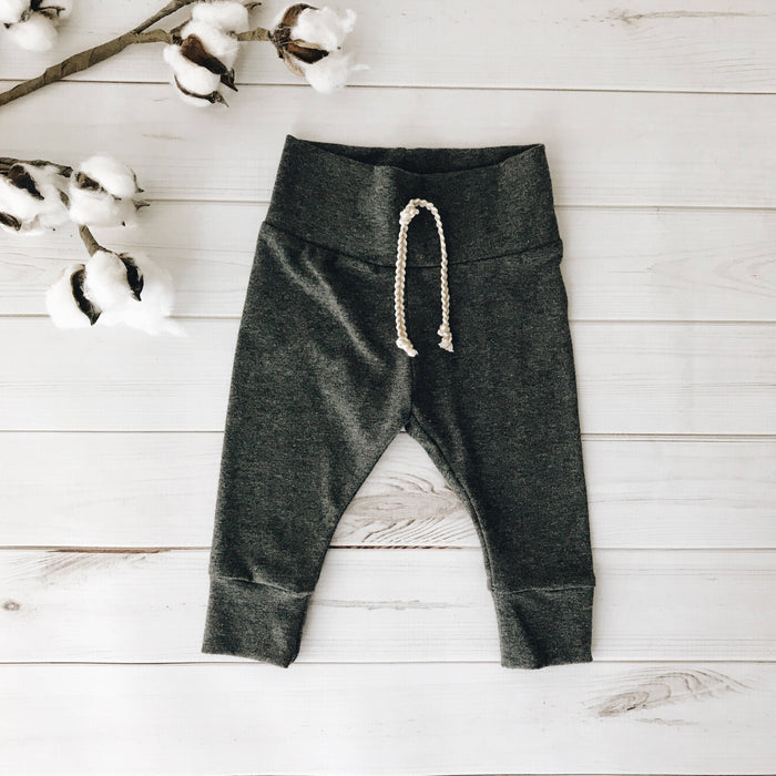 Charcoal - Solid Leggings