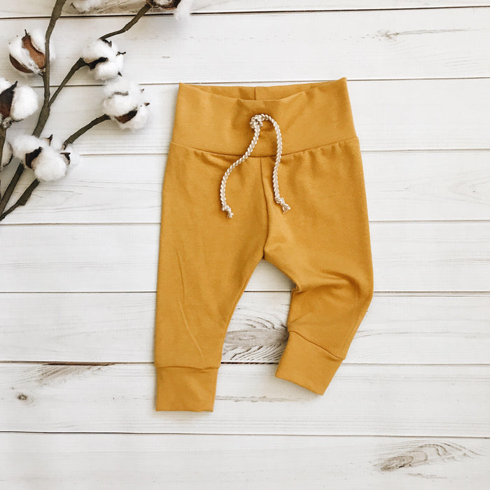 Mustard - Solid Leggings