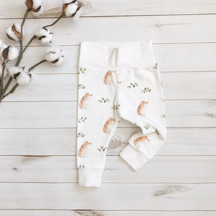 Watercolor Hedgehog Leggings