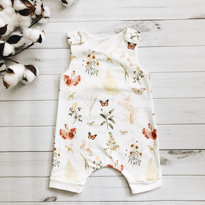 Monarch Meadow Romper