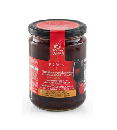 Chutney caramelized pepper with balsamic reduction and OPorto, PRISCA 450g