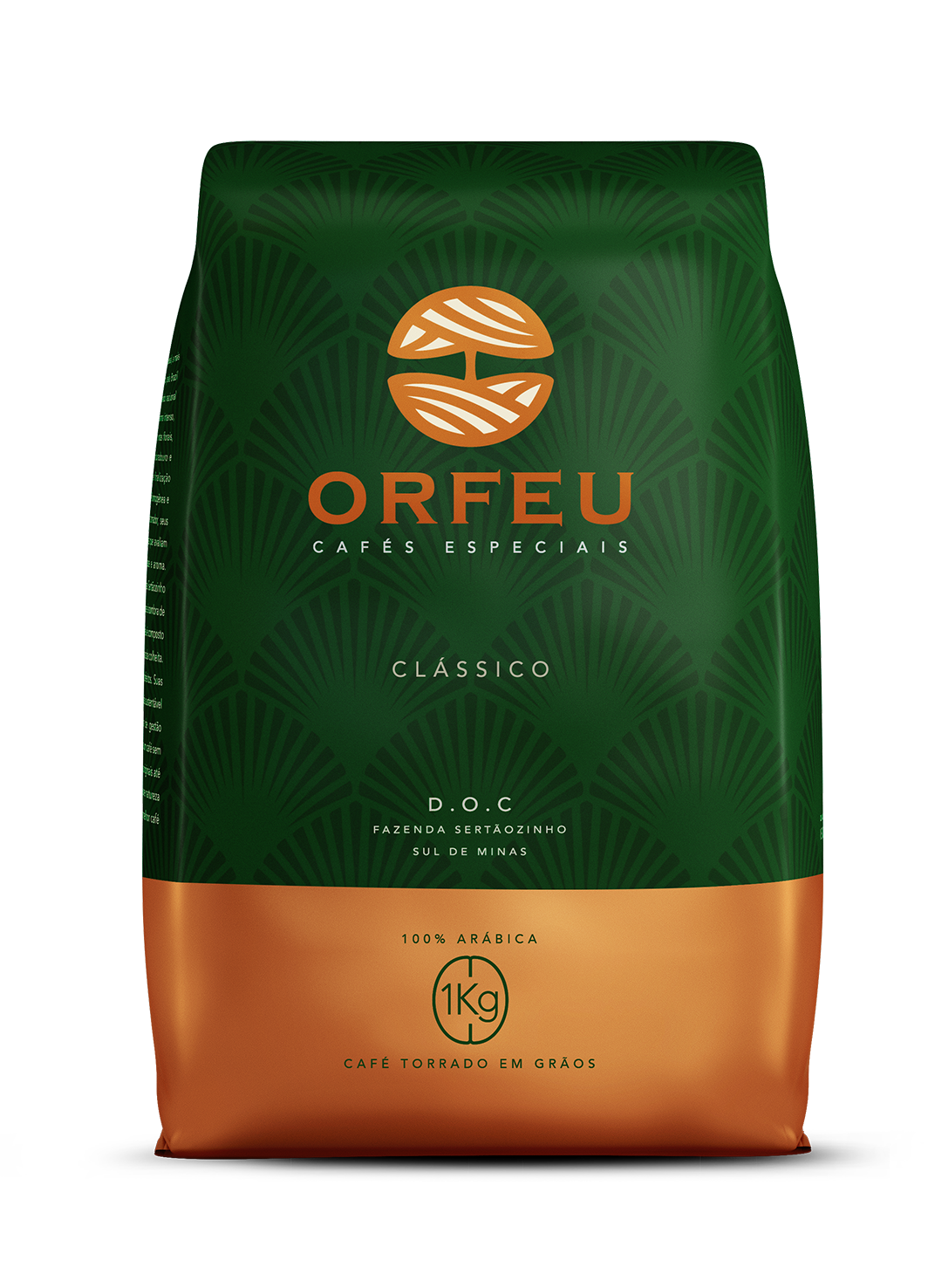 Brazilian specialty coffee ORFEU CLASSICO (roasted beans), 1Kg
