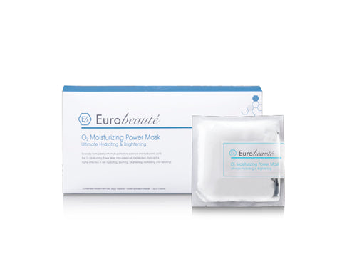 EUROBEAUTE O2 BUBBLING & BRIGHTENING POWER MASK 6PCS