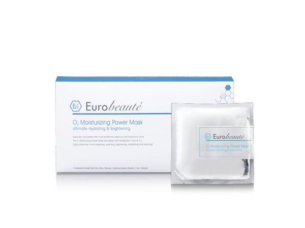 EUROBEAUTE O2 MOISTURIZING POWER MASK 10PCS