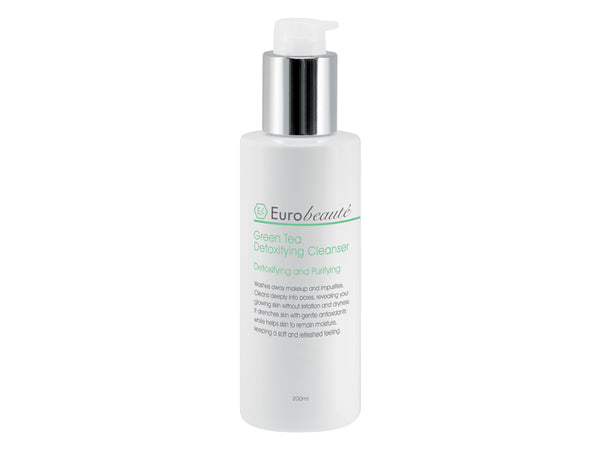 EUROBEAUTE GREEN TEA DETOXIFYING CLEANSER 200ml