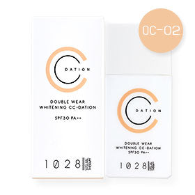 1028 VISUAL THERAPY DOUBLE WEAR WHITENING CC-DATION SPF30 PA++ OC-02 NUDE BEIGE 35G