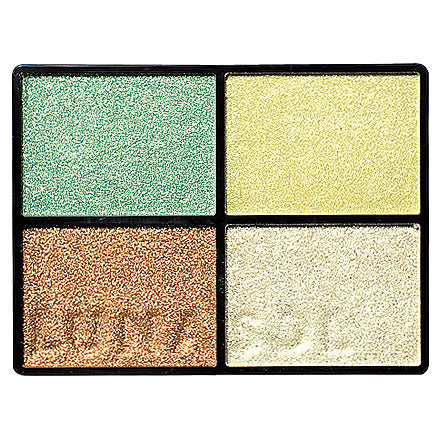 LUNASOL SHEER CONTRAST EYES EYESHADOW 04 GREEN CORAL 5.5g