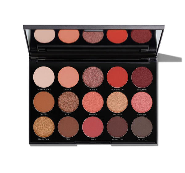 MORPHE 15H HAPPY HOUR EYESHADOW PALETTE 22.5g