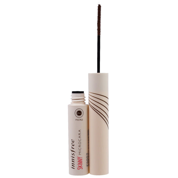 INNISFREE SKINNY MICROCARA MASCARA #2 BROWN 3.5g