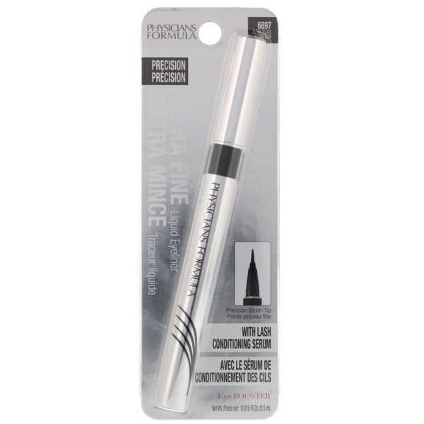 PHYSICIANS FORMULA ULTRA FINE LIQUID EYELINER #6897 ULTRA BLACK