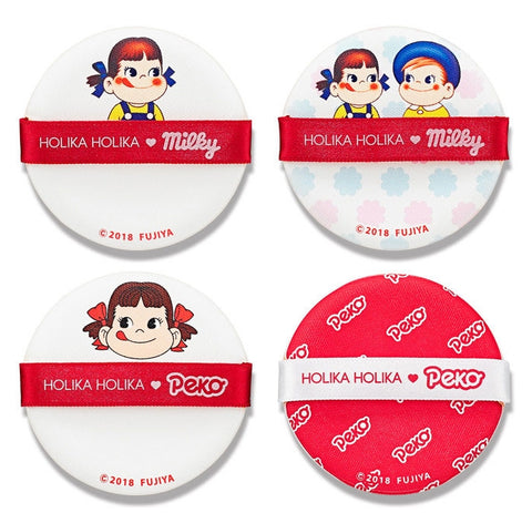 HOLIKA HOLIKA PEKO CUSHION PUFF 4PCS
