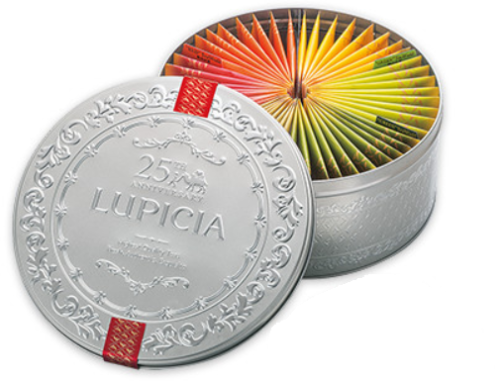 LUPICIA 25TH ANNIVERSARY TEA SET LIMITED EDITION 131g