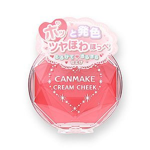 CANMAKE CREAM CHEEK 14 APPLE CREAM RED 2.3g