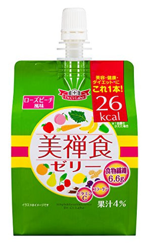 DR CILABO ZEN FOOD JELLY ROSE & PEACH FLAVOR 200g