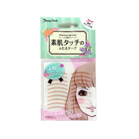 BEAUTY WORLD NATURAL EYE TAPE F-ENT350 30PCS