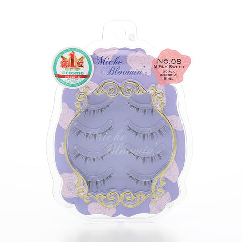 MICHE BLOOMIN FAKE EYELASHES NO.08 GIRLY SWEET