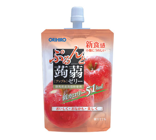 ORIHIRO APPLE JELLY 130g