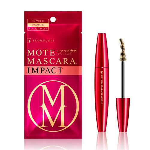MOTE MASCARA IMPACT 01 DRAMATIC BLACK