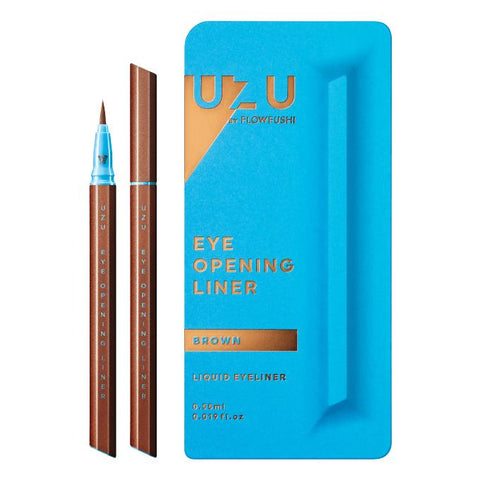 UZU EYE OPENING LIQUID EYELINER #BROWN 0.55ml