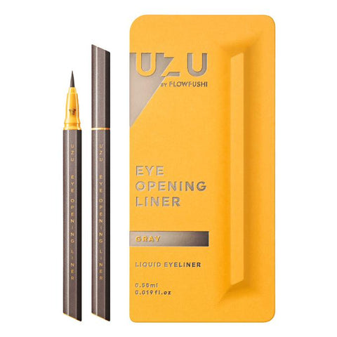 UZU EYE OPENING LIQUID EYELINER #GRAY 0.55ml