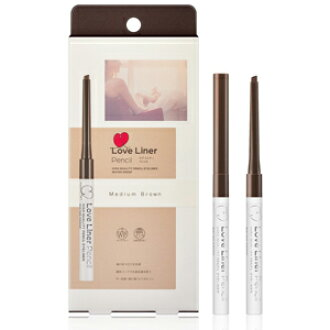 LOVE LINER PENCIL EYELINER WP MEDIUM BROWN