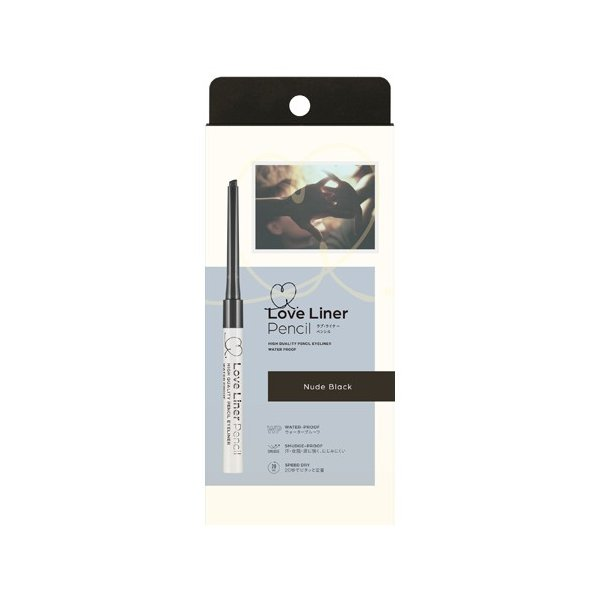 LOVE LINER PENCIL EYELINER WP NUDE BLACK