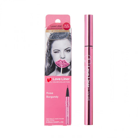 LOVE LINER LIQUID EYELINER ROSE BURGUNDY 0.55ml