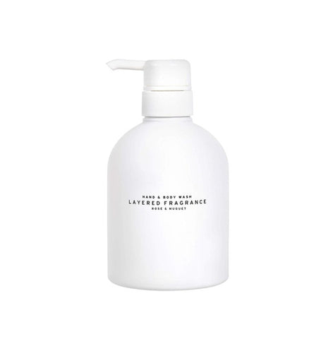 LAYERED FRAGRANCE HAND & BODY WASH #ROSE & MUGUET 500ml