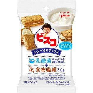 GLICO BISCO SYMBIOICS YOGURT FLAVOR BISCUITS 10PCS