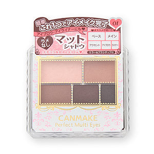 CANMAKE PERFECT MULTI EYES 5 COLORS EYESHADOW 01 ROSE CHOCOLAT 3.3g