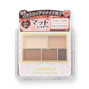 CANMAKE PERFECT MULTI EYES 5 COLORS EYESHADOW 02 URBAN CARAMEL 3.3g