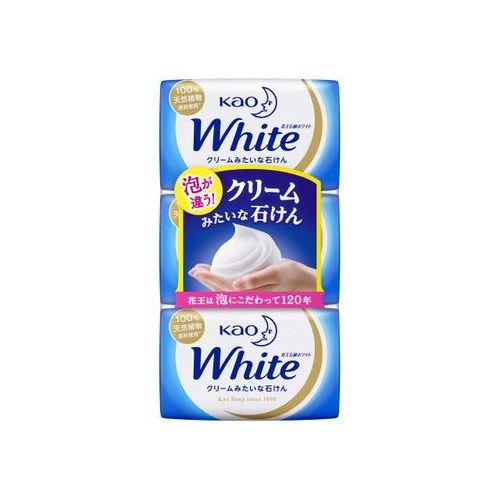 KAO WHITE SOAP AROMATIC MILK 85g 3PACKS