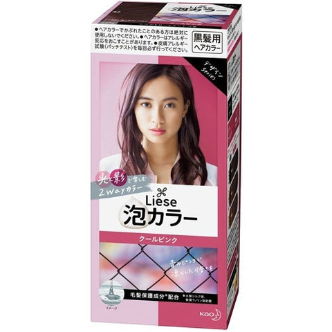 KAO LIESE PRETTIA HAIR COLOR FOAM #COOL PINK