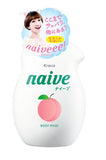 KRACIE NAIVE BODY WASH #PEACH LEAF 530ml