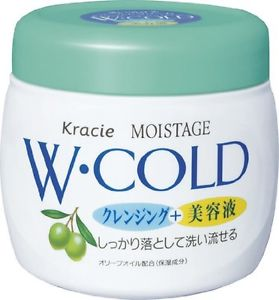 KRACIE MOISTAGE W.COLD CLEANSING CREAM 270g
