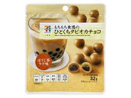SEVEN & I PREMIUM TAPIOCA-FILLED CHOCOLATES WITH ROASTED GREEN TEA LATTE 32g